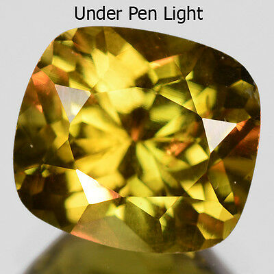 1.21 Cts RARE FINE QUALITY NATURAL COLOR CHANGE CHRYSOBERYL REFER VIDEO