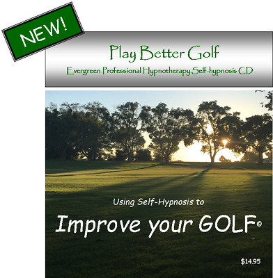 Hypnosis CD to Play Better GOLF