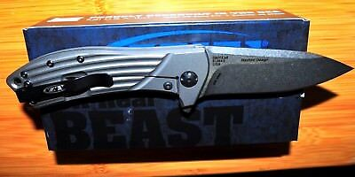 Kershaw Zero Tolerance 0801 Todd Rexford Flipper Titanium razor edge,Knife USA