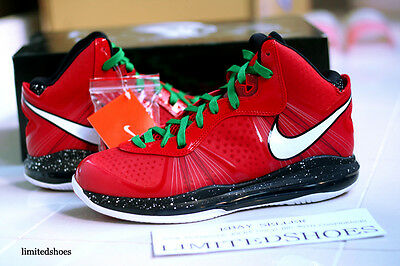 quality design 653b9 b617a NIKE AIR MAX LEBRON VIII 8 V 2 CHRISTMAS 429676-600 south beach x