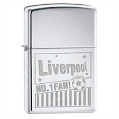 Liverpool Football Lighter Gift Boxed Smoking Engraved Star Lighter Empty