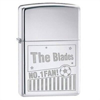 Sheffield Utd Football Lighter Novelty Gift Boxed Enamel Accessories Smoking