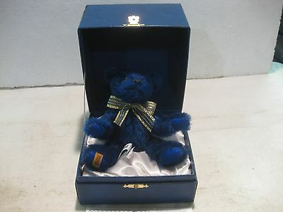 Rare MerryThought Limited Edition Sapphire Anniversary Bear #460 From 1995 t17