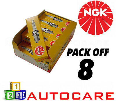 4 Pack NEW GENUINE NGK Replacement SPARK PLUGS B7ECS Stock No 2528 Trade Price