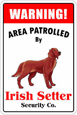 """*Aluminum* Warning Area Patrolled By Papillon 8/""""X12/"""" Metal Novelty Sign"""