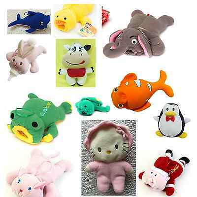 Cute Animal Baby Bottle Feeder Cover Dolphin Duck Bunny Cotton