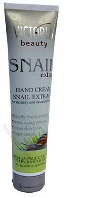 Victiria Beauty hands cream with extract of snails for beauty hands
