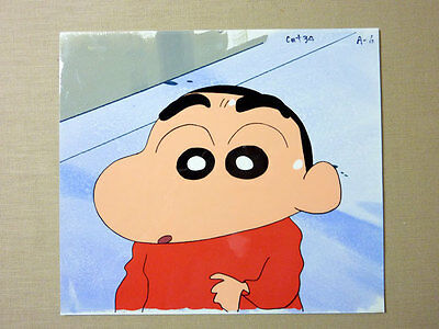 Anime Cel Crayon Shinchan A6 with Background picture