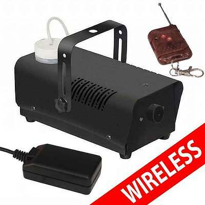 Wireless Smoke / Fog Machine 400W Dj Disco Laser Light Club Fogger Pub Home Watt