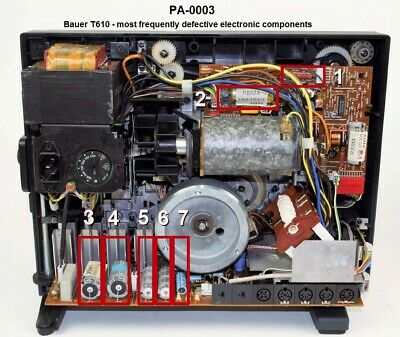 Bauer T610 - electronic spare part kit (PA-0003)
