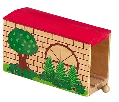 Wooden Covered Bridge Track Accessory / Part Brio ELC Thomas Compatible Railway