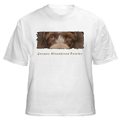 "German Wirehaired Pointer   ""The Eyes Have It""   T shirt"