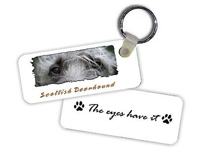 Scottish  Deerhound   The  Eyes Have It   Key  Chain
