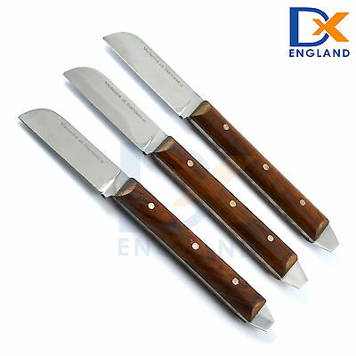 Laboratory Mixing Plaster Knife Wax and Modeling Knives Lab Alginate Spatulas X3