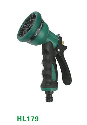 10 Dial Spray Gun With Quick To Connect Male Hose Lock Type At The Base