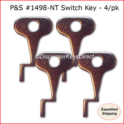 Pass & Seymour #1498-NT Tamper Proof Electrical Switch Key - (4/pack)