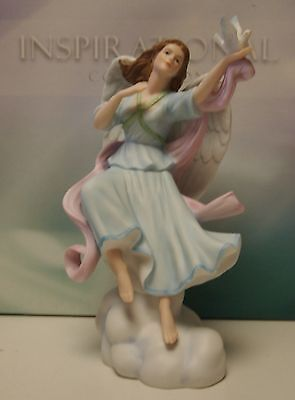 New Inspirational Collection: Angel with Dove of Peace Figure Figurine Statue