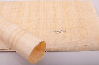"Wholesale Lot of 100 Blank Egyptian Hand Made Papyrus A4 12""x 8.25"" (30 x 21cm)"