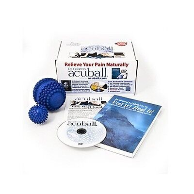 Dr Cohen AcuBall KIT * Heatable Ball Helps Posture, Relieves Pain & Stress RELAX