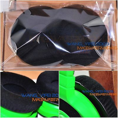 Soft Velour Replacement Ear Pads Cushion For Razer KRAKEN Game Gaming Headphones