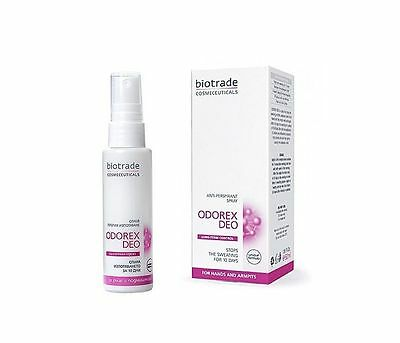 BIOTRADE ODOREX DEO -STOP SWEATING !-ANTIPERSPIRANT SPRAY-50 ml