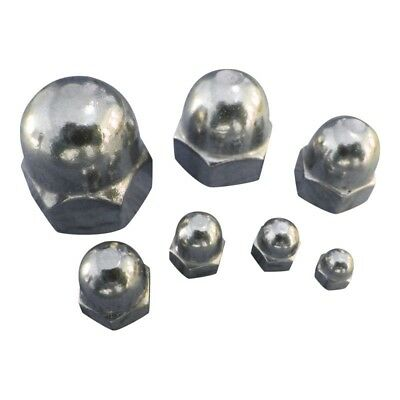 Dome Nuts Stainless Steel A4-Marine Grade (316) M3 M4 M5 M6 M8 M10 M12: Freepost