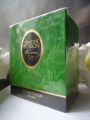 DIOR TENDRE POISON SOAP IN LUXURY LIDDED DISH 150g 5.3oz SEALED MINT GIFT Co BOX