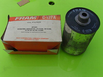 International Tracteur Filtre Fram C137A Origine Neuf