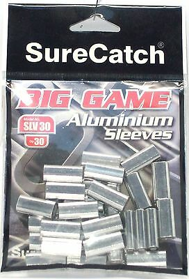 SureCatch Aluminium Big Game Sleeves for crimping BRAND NEW