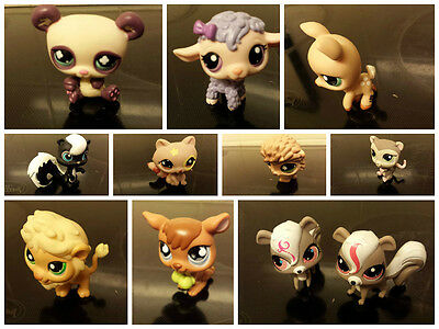 littlest pet shop animals  10 to choose from
