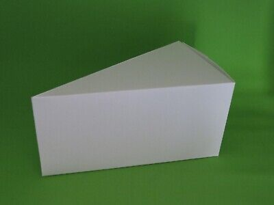 Cake Slice Boxes - Take Home A Slice Of Cake - Package Of 10 - 10 pt Cover Stock