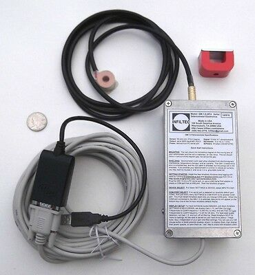 Infiltec QM-1.0-3704 Seismometer Electronics for AS1 or Lehman type Seismograph