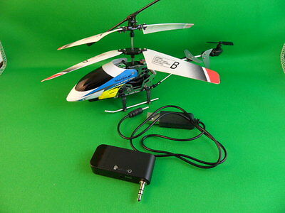 RC PROTOCOL HELI TRACERJET parts. USB charging cable + iPhone/Android Adapter