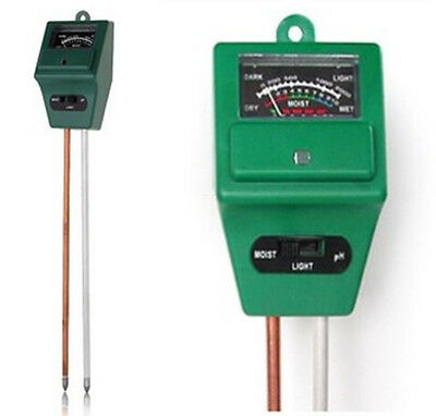 PH Tester Soil Water Moisture Light Test Meter Sensor for Garden Plant Flower Mo
