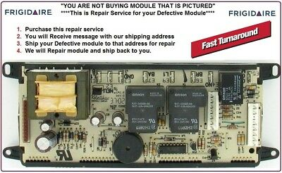 318010700 Mail-In Repair Service Frigidaire Oven Control Board