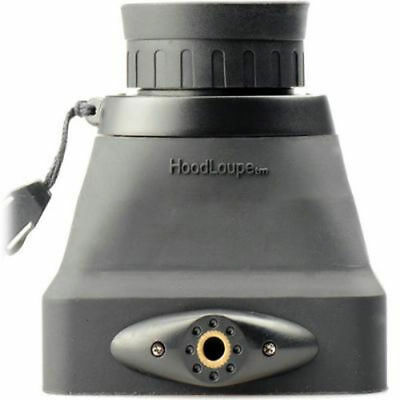 """Hoodman CH32 Compact HoodLoupe 3.2 Optical Viewfinder for 3.2"""" LCD Displays"""