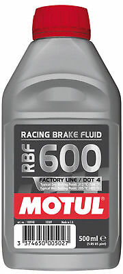Motul Mx 500ml Dot 4 Motocross Dirt Bike Motorbike 600 RBF Racing Brake Fluid
