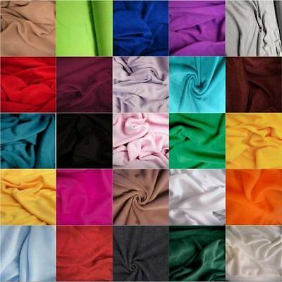 28 colours Polar FLEECE soft fabric material 150cm sold by metre