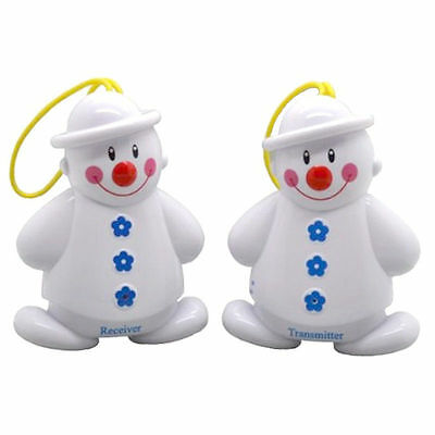 New Wireless Infant Baby Cry Lovely Snowman Detector Watcher Monitor Alarm