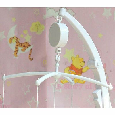 New Lovely Baby Mobile Crib Bed Bell Toy Music Box Wind-Up Movement