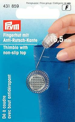 Prym Fingerhut 16,5 mm silberfarbig Anti - Rutsch 431859