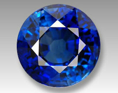 Lab Created Synthetic Light Blue Sapphire Color Round loose stone (5mm - 10mm)