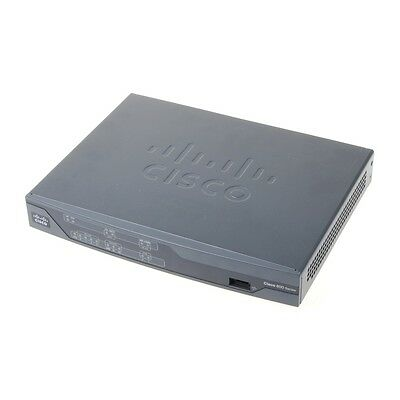 Cisco 892-K9 V2 Gigabit Ethernet Security Router // Version 12.4(22r)