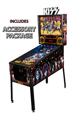 Stern KISS Premium Pinball Machine with Accessory Package
