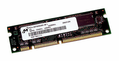 Micron MT4LSDT832UDG-8F1 32MB PC125 125MHz 100-Pin Memory Module