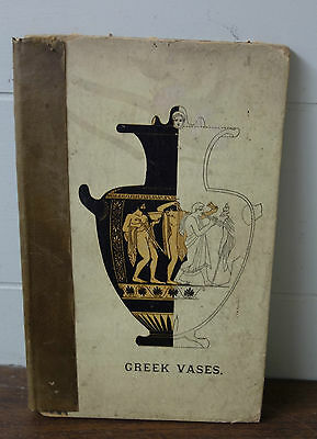 1879 Greek Vases Book 12 Chromolithographs Munich Collection