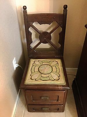 Antique Chamber Chair