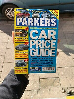 Parkers Price Guide Magazine August 2018 Car Buyers Guide Easy To Read Prices