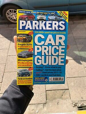Parkers Price Guide Magazine May 2018 Car Buyers Guide Easy To Read Prices