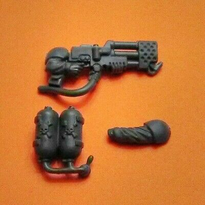 Imperial Guard Cadian Command Heavy Flamer Bits